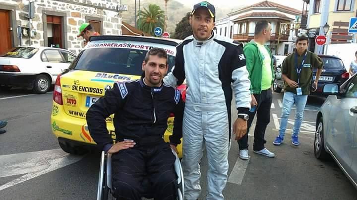 Domingo Pulido & Carlos Miranda, nuestro piloto y copiloto 2015!!