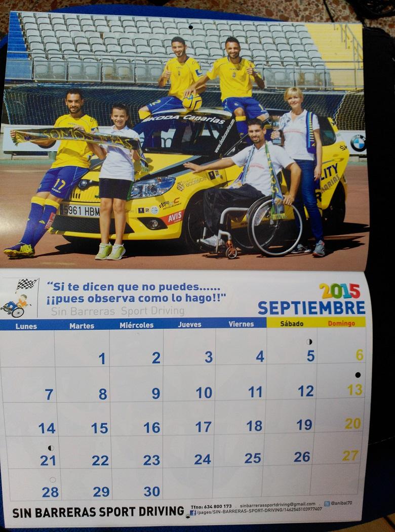 Calendario Ud Las Palmas.Calendario Mas Solidarios Con La U D Las Palmas