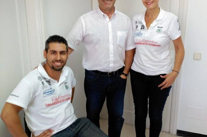 Con el Director General de Deportes del Gobierno de Canarias José Francisco Perez