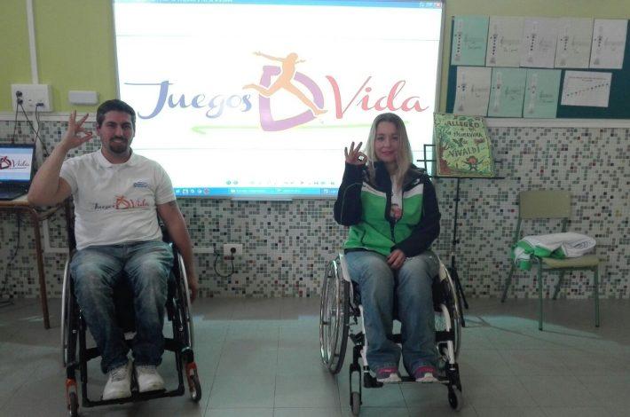 """NUEVA VISITA AL CEIP OROBAL CON EL PROYECTO """"JuegosDvida"""""""