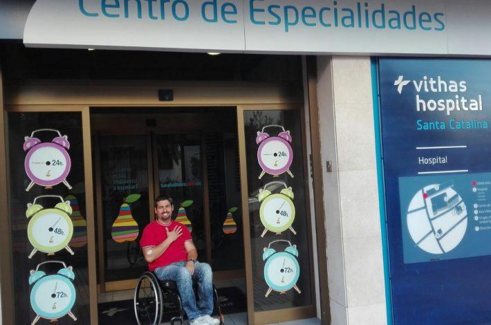 RECONOCIMIENTOS MEDICOS TEMPORADA 2017 EN HOSPITAL SANTA CATALINA VITHAS