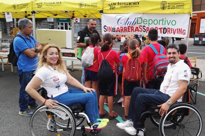 Semana Europea de movilidad 2017 en Luis Doreste Silva