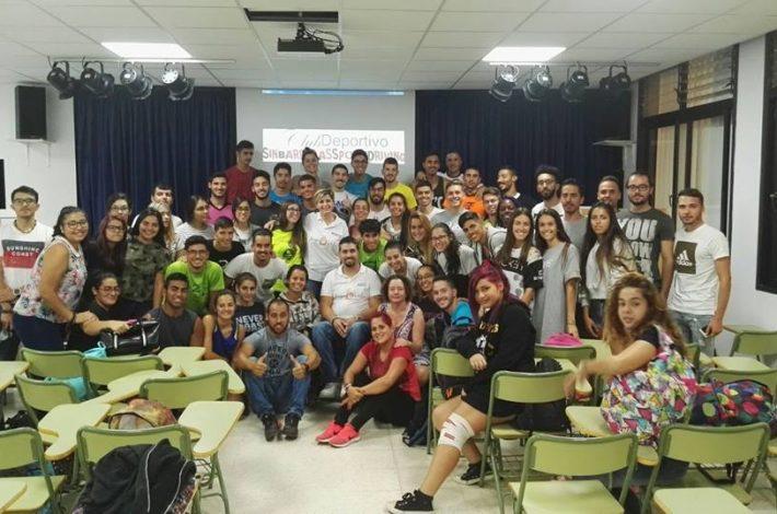 CHARLA /ACTIVIDAD EDUCACIÓN CON EL DEPORTE,DISCAPACIAD,IGUALDAD Y ORIENTACIÓN LABORAL EN EL IES TONY GALLARDO