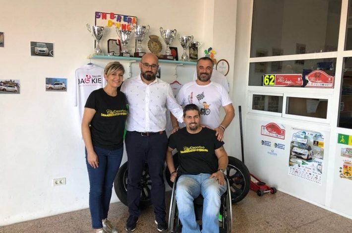 El concejal de Deportes del Ayuntamiento de Las Palmas de Gran Canaria, Aridany Romero, visitó recientemente las instalaciones del club SIN Barreras Driving, con el fin de ampliar la colaboración para el año 2018.  👏🏽👏🏽
