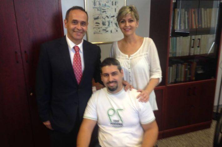 Nos recibió ayer nuestro gran amigo D. Antonio Hernández Lobo ❤️❤️Director de Alta Inspección de Educación en Delegación del Gobierno de Canarias