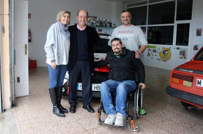 Visita a nuestra sede, el Director General de Deportes del Gobierno de Canarias,Don José Francisco Pérez Martín.