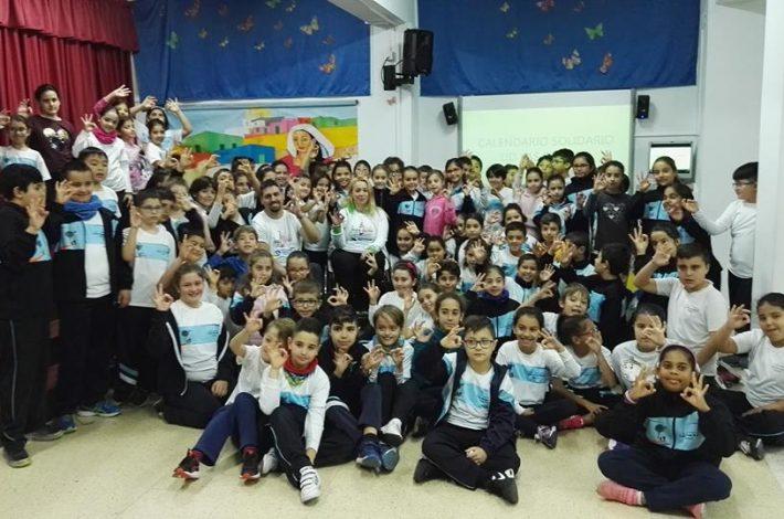 Increíbles los chic@s del CEIP Profesor Carlos Socas(Ingenio) Nosotros también aprendemos con ellos💕💕 #tupuedesconsequirloquequieras con #alegria #aviscanarias