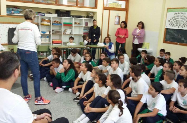 CHARLA/ACTIVIDAD EN EL CEIP ATLÁNTIDA