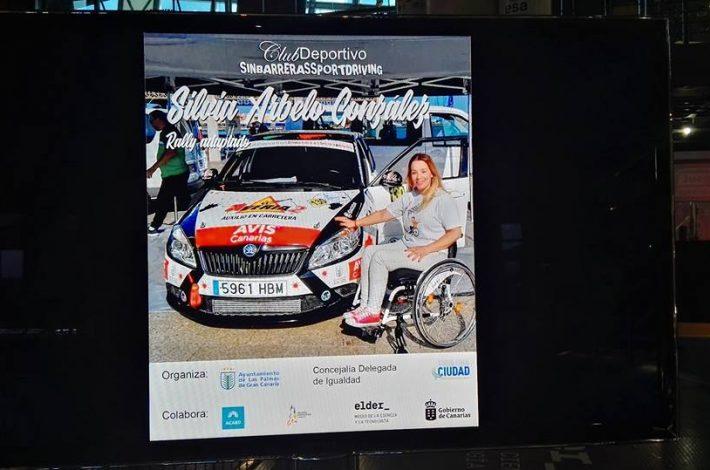 Reconocimiento a nuestra piloto Silvia Arbelo González y a muchas mujeres deportistas Canarias, desde la concejalía de Igualdad del Ayuntamiento de Las Palmas de Gran Canaria y la colaboración de la Mujeres Deportistas Canarias y Empodérate Con El Deporte