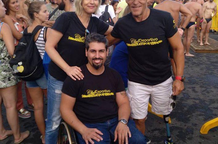 SIN Barreras Driving en el Open Water Series 2018 con Carmelo Santana Sanchez  #swimming 🥇🏊 Continuará…….