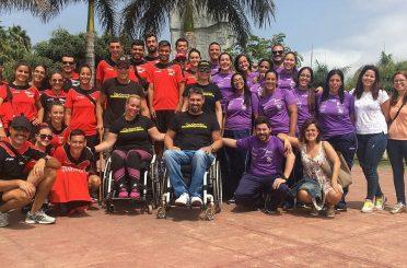 Nuestro equipo en las jornadas sobre movilidad y discapacidad del Ayuntamiento de Las Palmas