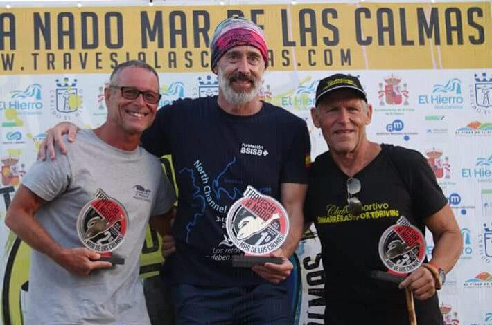 """Travesía Mar de Las Calmas """"400 participantes 5º EN LA GENERAL 5º MASCULINO y 3º VETERANO!!!!"""