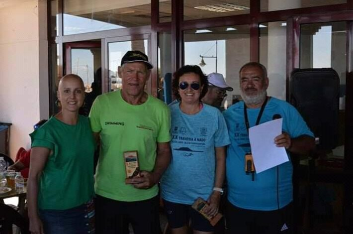 En SIN Barreras Driving no paramos 🏊👌💪👏👏 XX aniversario de la travesía a nado entre la Isla de Lobos y Corralejo